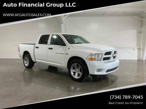 2012 RAM Ram Pickup 1500 for sale at Auto Financial Group LLC in Flat Rock MI