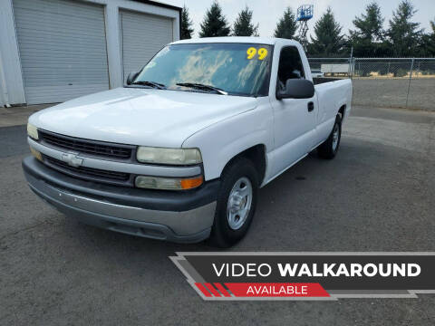 1999 Chevrolet Silverado 1500 for sale at McMinnville Auto Sales LLC in Mcminnville OR
