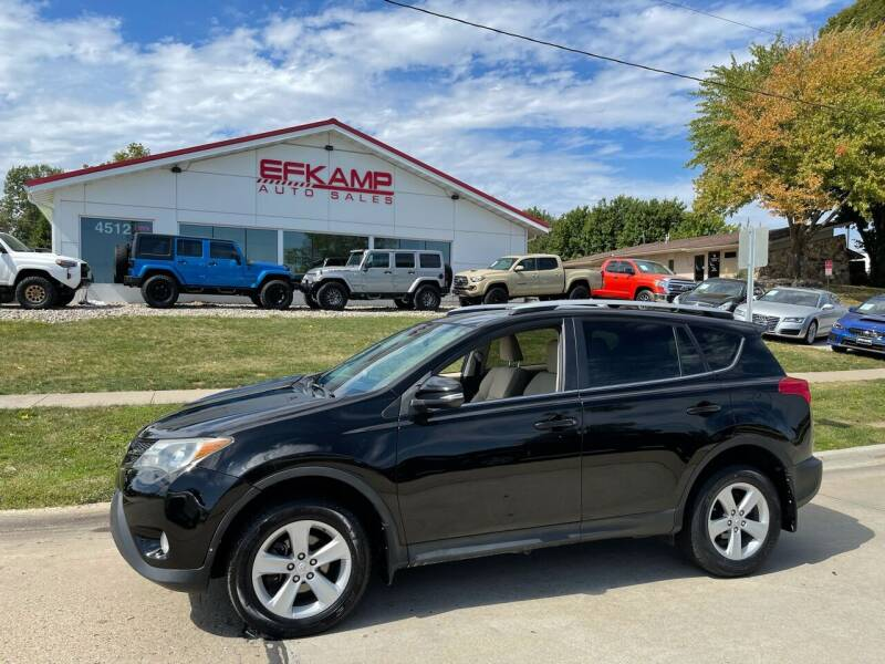 2013 Toyota RAV4 for sale at Efkamp Auto Sales LLC in Des Moines IA