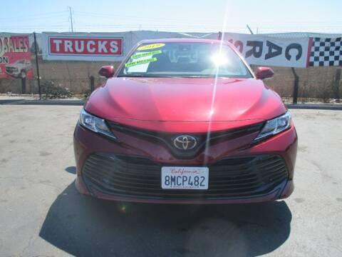 2019 Toyota Camry for sale at Quick Auto Sales in Modesto CA