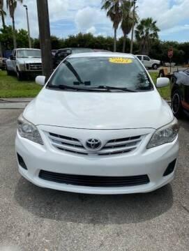 2013 Toyota Corolla for sale at DAN'S DEALS ON WHEELS in Davie FL
