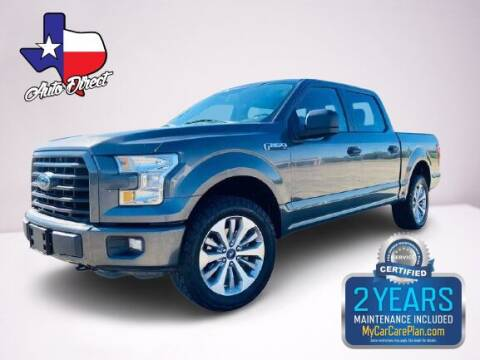 2017 Ford F-150 for sale at AUTO DIRECT Bellaire in Houston TX