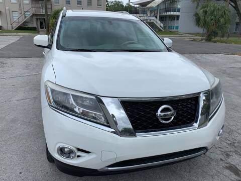 2013 Nissan Pathfinder for sale at Consumer Auto Credit in Tampa FL