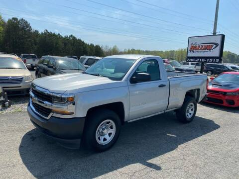 2016 Chevrolet Silverado 1500 for sale at Billy Ballew Motorsports in Dawsonville GA