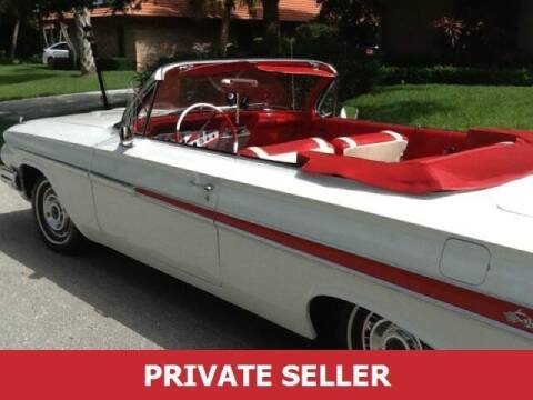 1961 Chevrolet Impala for sale at US 24 Auto Group in Redford MI