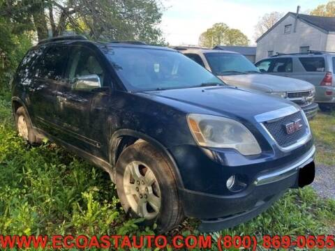 2009 GMC Acadia for sale at East Coast Auto Source Inc. in Bedford VA