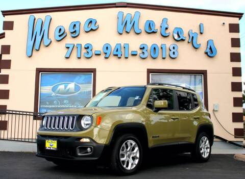 2015 Jeep Renegade for sale at MEGA MOTORS in South Houston TX