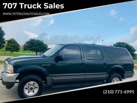 2004 Ford Excursion for sale at 707 Truck Sales in San Antonio TX