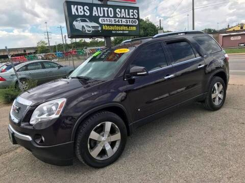 2009 GMC Acadia for sale at KBS Auto Sales in Cincinnati OH
