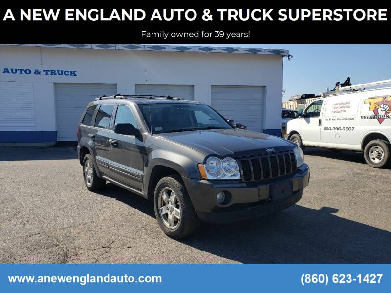 2005 Jeep Grand Cherokee for sale at A NEW ENGLAND AUTO & TRUCK SUPERSTORE in East Windsor CT