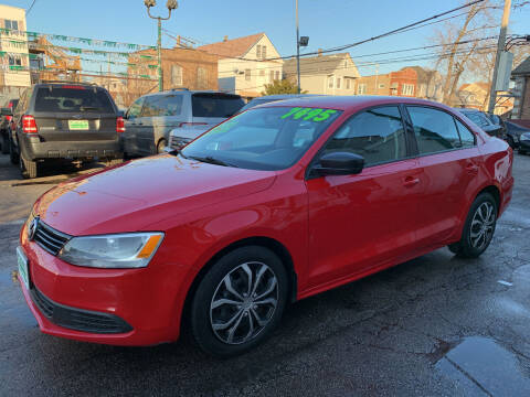 2011 Volkswagen Jetta for sale at Barnes Auto Group in Chicago IL
