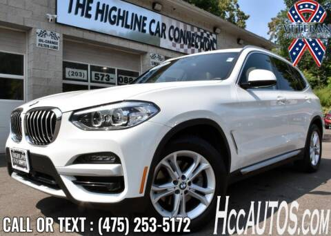 2020 BMW X3 for sale at The Highline Car Connection in Waterbury CT