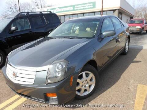 2007 Cadillac CTS for sale at Gary Simmons Lease - Sales in Mckenzie TN