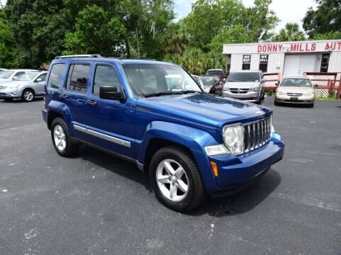 2009 Jeep Liberty for sale at DONNY MILLS AUTO SALES in Largo FL