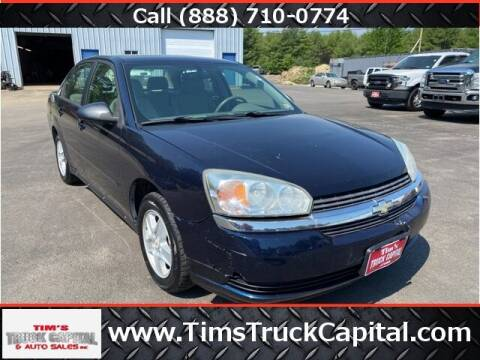 2005 Chevrolet Malibu for sale at TTC AUTO OUTLET/TIM'S TRUCK CAPITAL & AUTO SALES INC ANNEX in Epsom NH