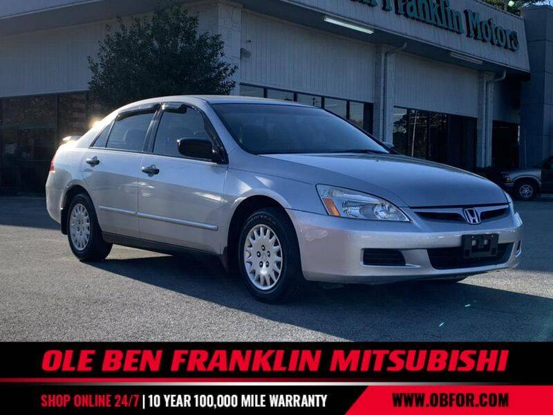 2007 Honda Accord for sale at Ole Ben Franklin Mitsbishi in Oak Ridge TN