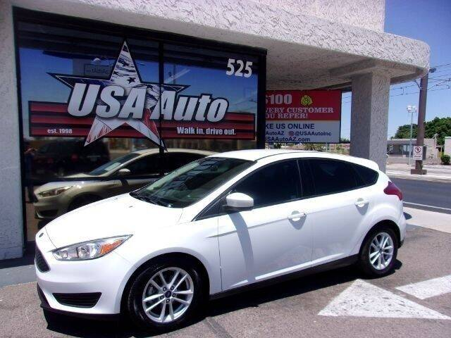 2018 Ford Focus for sale at USA Auto Inc in Mesa AZ