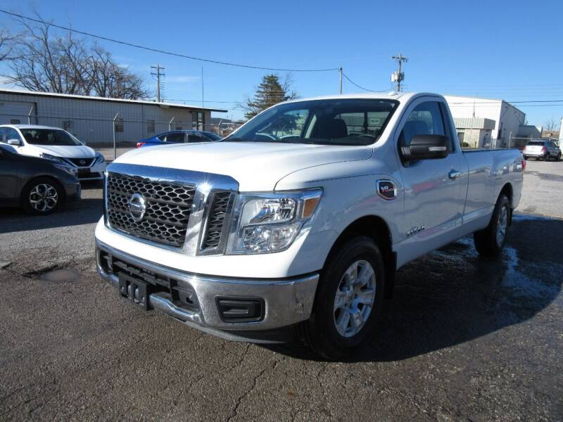 2017 Nissan Titan for sale at Grays Used Cars in Oklahoma City OK