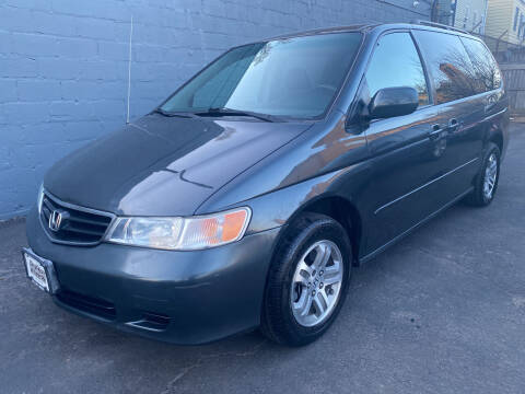 2003 Honda Odyssey for sale at DEALS ON WHEELS in Newark NJ