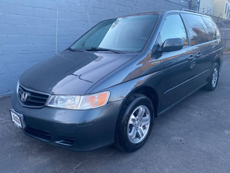 2003 Honda Odyssey for sale at DEALS ON WHEELS in Newark NJ