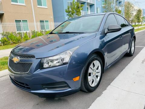 2014 Chevrolet Cruze for sale at LA Motors Miami in Miami FL