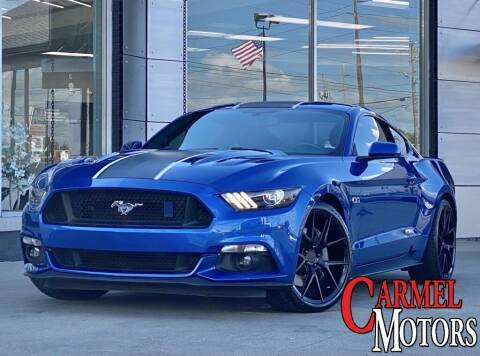2017 Ford Mustang for sale at Carmel Motors in Indianapolis IN