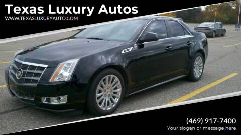 2007 Cadillac CTS for sale at Texas Luxury Auto in Cedar Hill TX