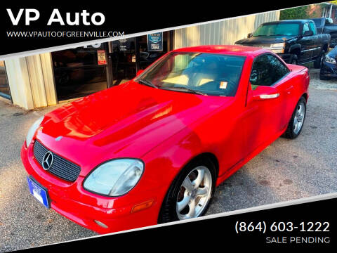 2001 Mercedes-Benz SLK for sale at VP Auto in Greenville SC