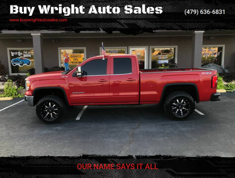 2015 GMC Sierra 1500 for sale at Buy Wright Auto Sales in Rogers AR