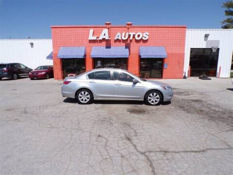 2010 Honda Accord for sale at L A AUTOS in Omaha NE