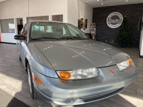2002 Saturn S-Series for sale at Evolution Autos in Whiteland IN
