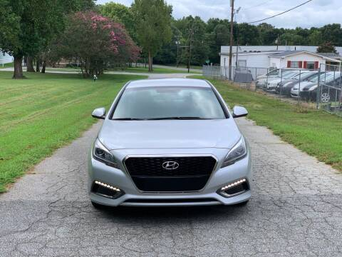 2016 Hyundai Sonata Hybrid for sale at Speed Auto Mall in Greensboro NC