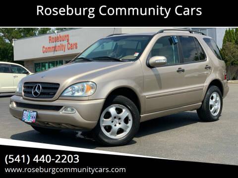 2005 Mercedes-Benz M-Class for sale at Roseburg Community Cars in Roseburg OR