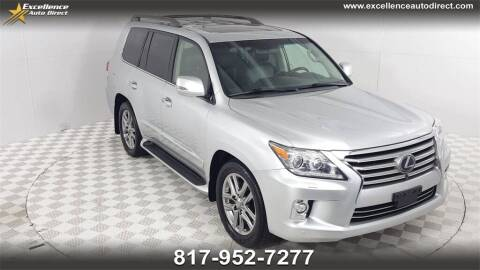 2015 Lexus LX 570 for sale at Excellence Auto Direct in Euless TX