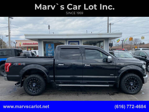 2015 Ford F-150 for sale at Marv`s Car Lot Inc. in Zeeland MI