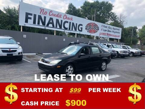 2003 Ford Focus for sale at Auto Mart USA in Kansas City MO
