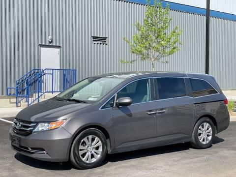 2016 Honda Odyssey for sale at SILVER ARROW AUTO SALES CORPORATION in Newark NJ