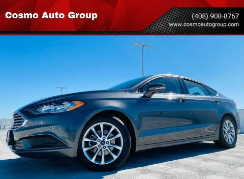 2017 Ford Fusion for sale at Cosmo Auto Group in San Jose CA