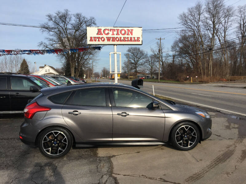 2014 Ford Focus for sale at Action Auto Wholesale in Painesville OH