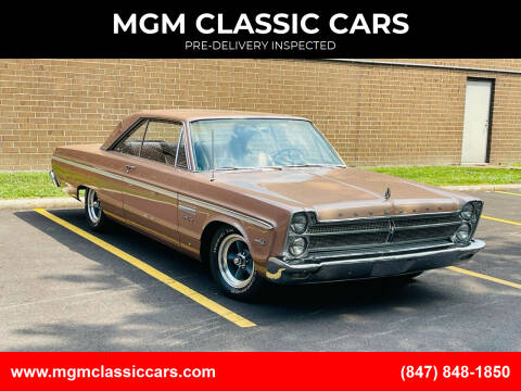 1965 Plymouth Sport Fury for sale at MGM CLASSIC CARS in Addison IL