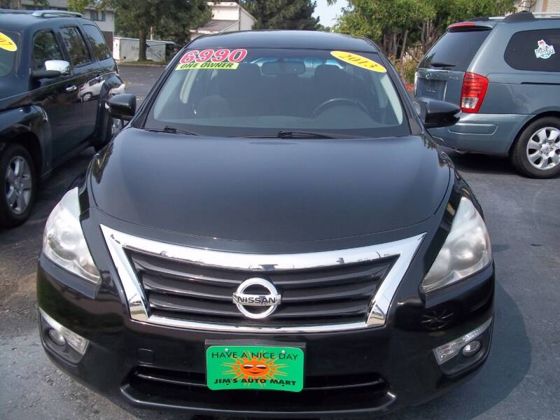 2013 Nissan Altima for sale at JIMS AUTO MART INC in Milwaukee WI