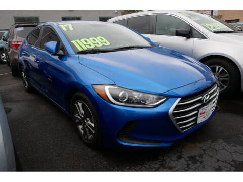 2017 Hyundai Elantra for sale at M & R Auto Sales INC. in North Plainfield NJ