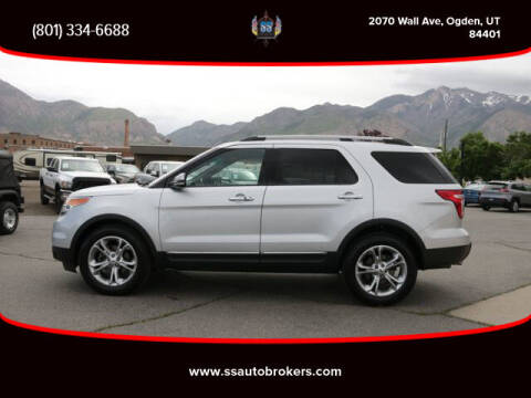 2013 Ford Explorer for sale at S S Auto Brokers in Ogden UT