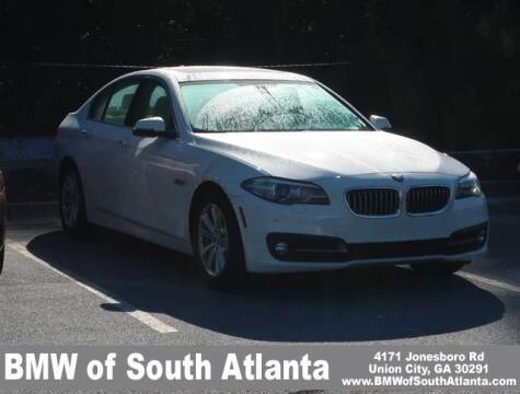 2016 BMW 5 Series for sale at Carol Benner @ BMW of South Atlanta in Union City GA