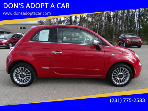 2012 FIAT 500 for sale at DON'S ADOPT A CAR in Cadillac MI