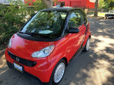 2013 Smart fortwo for sale at Once and Done Motorsports in Chico CA