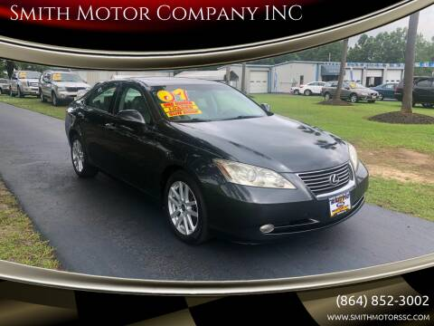 2007 Lexus ES 350 for sale at Smith Motor Company INC in Mc Cormick SC