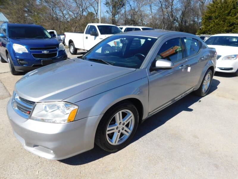 2013 Dodge Avenger for sale at National Advance Auto Sales in Florence AL