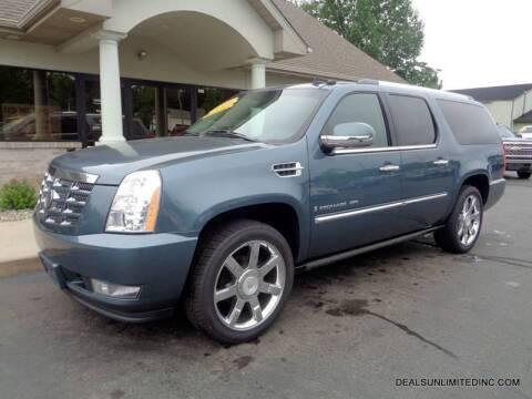 2009 Cadillac Escalade ESV for sale at DEALS UNLIMITED INC in Portage MI