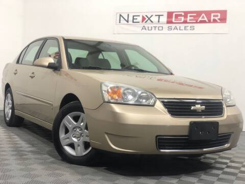 2008 Chevrolet Malibu Classic for sale at Next Gear Auto Sales in Westfield IN